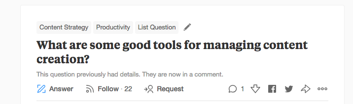 customer research example on Quora